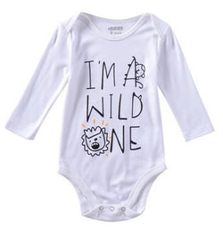 Cute Unisex Long Sleeve Baby Onesies - Wow Great Gifts