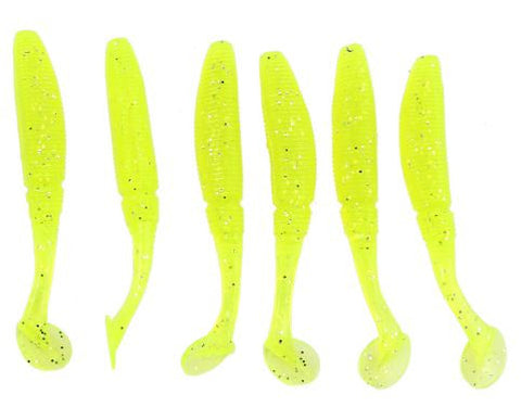 Soft Wiggle Tail Fishing Worms 12 Pack - Wow Great Gifts