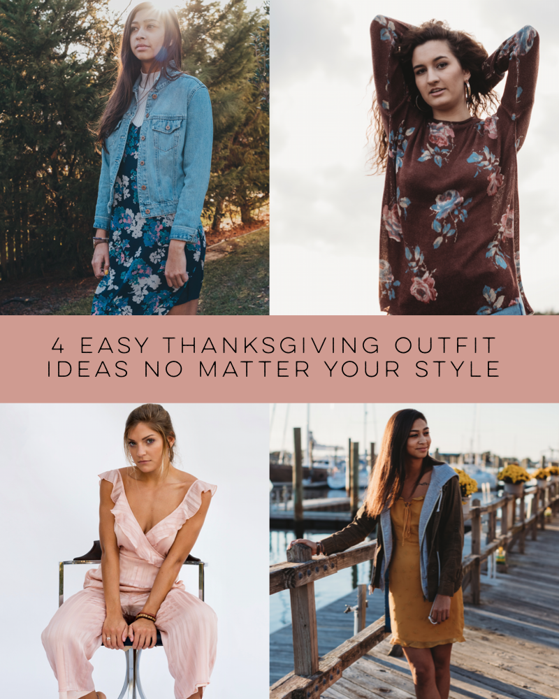 4 Easy Thanksgiving Outfit Ideas