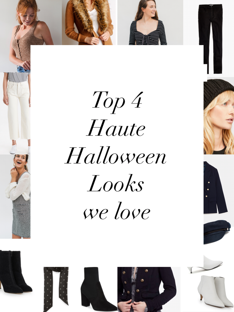 "Haute Halloween - ""costumes"" you can wear any day of the week!"