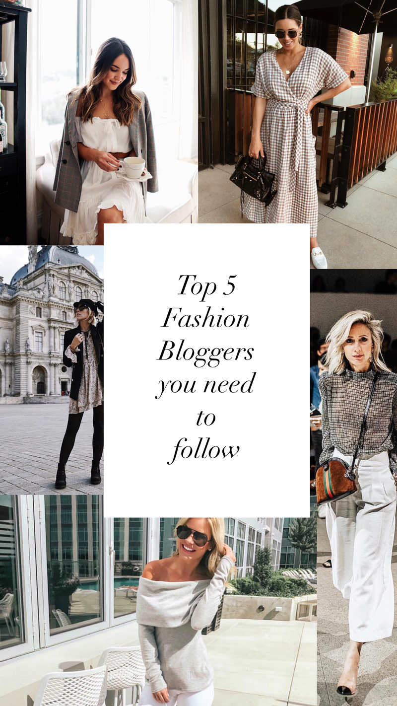 5 Bloggers you may not be following, but need to be.
