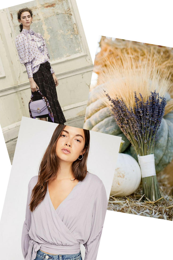 fall 2018 lavender and crocus petal mood board for cote boutique