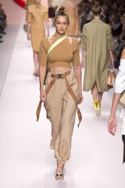 Gigi hadid for Fendi spring 2019
