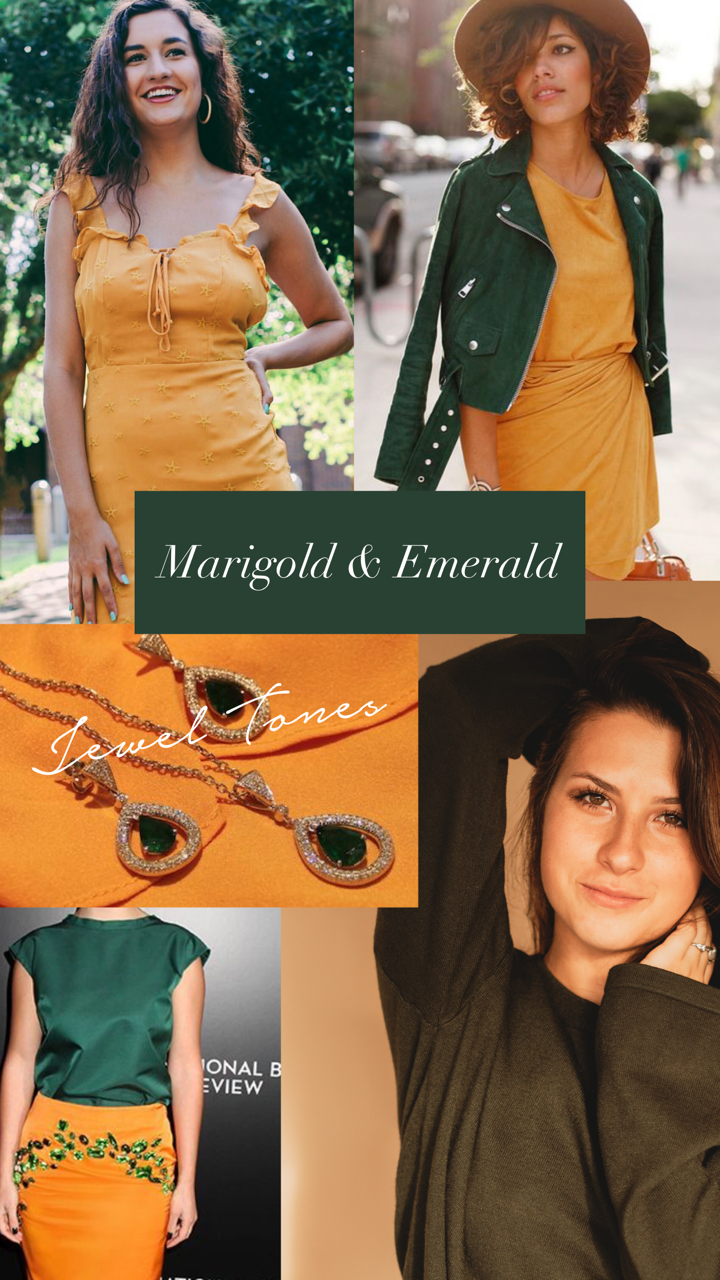 marigold and emerald fall 2018 styled by cote boutique