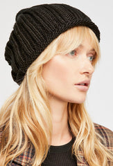 free people rory knit beanie styled by cote boutique