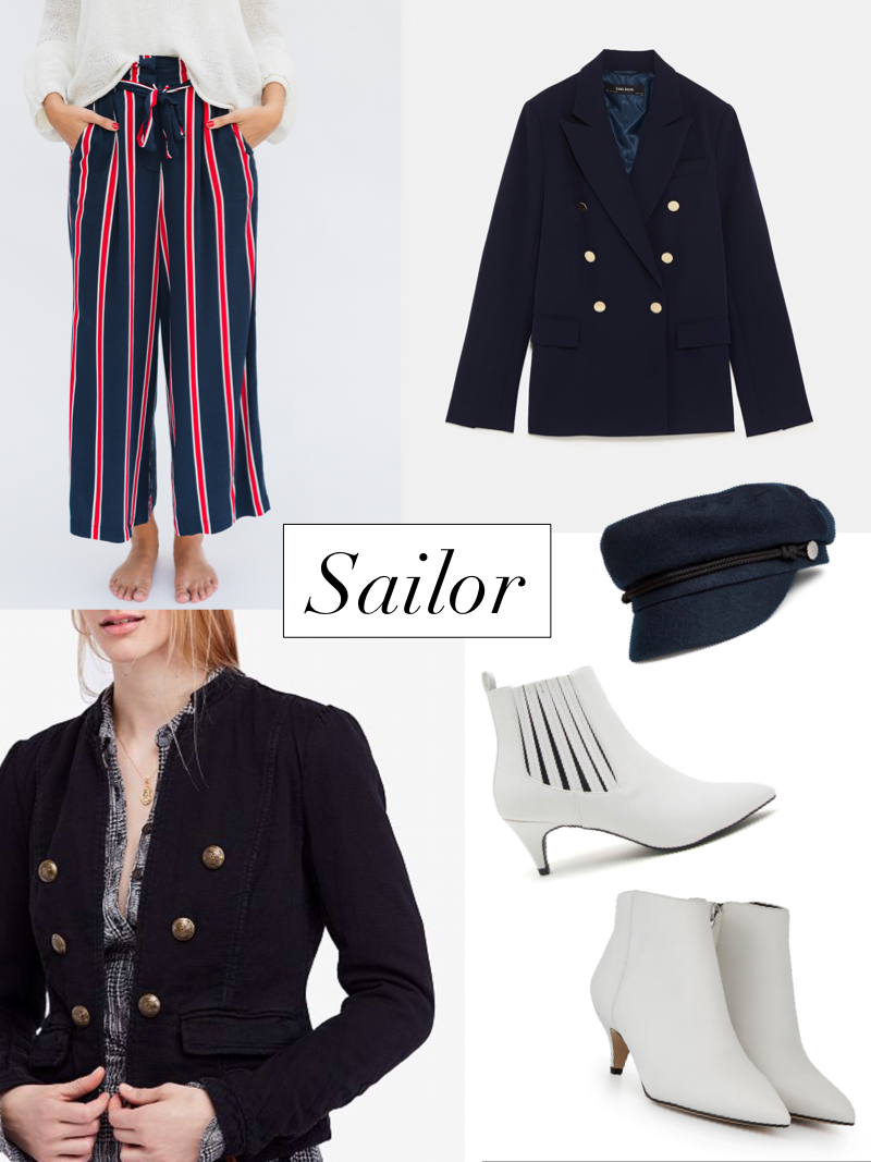 sailor haute halloween outfit styled by cote boutique