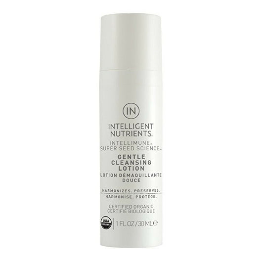 Intelligent Nutrients - Gentle Cleansing Lotion, For All Skin Types, 3.0 oz