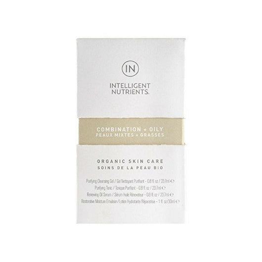 Intelligent Nutrients - Combination and Oily Skin Care Set (Set of 4)