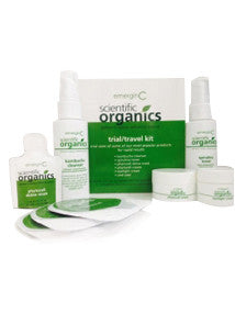 emerginC Scientific Organics - Trial/Travel Kit, 6 Top Selling EmerginC Products Conveniently Packed for Travel (6 items)