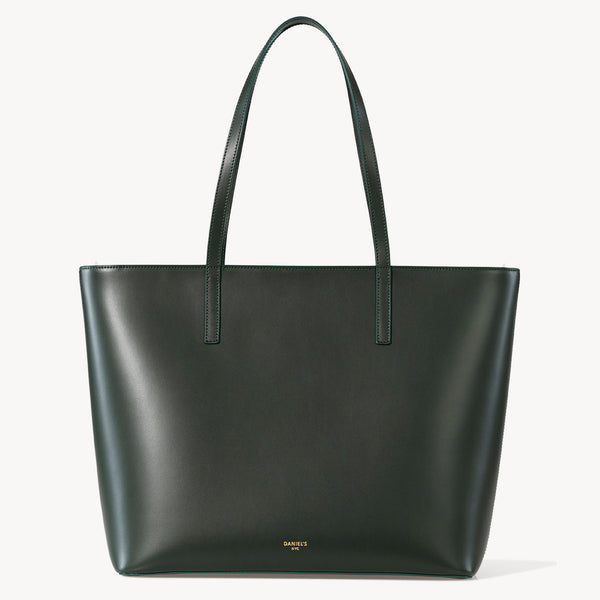Calfskin Zippered Tote