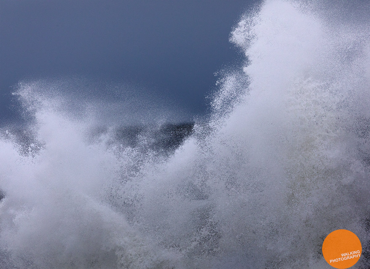 Waves in a storm on Northumberland Coast