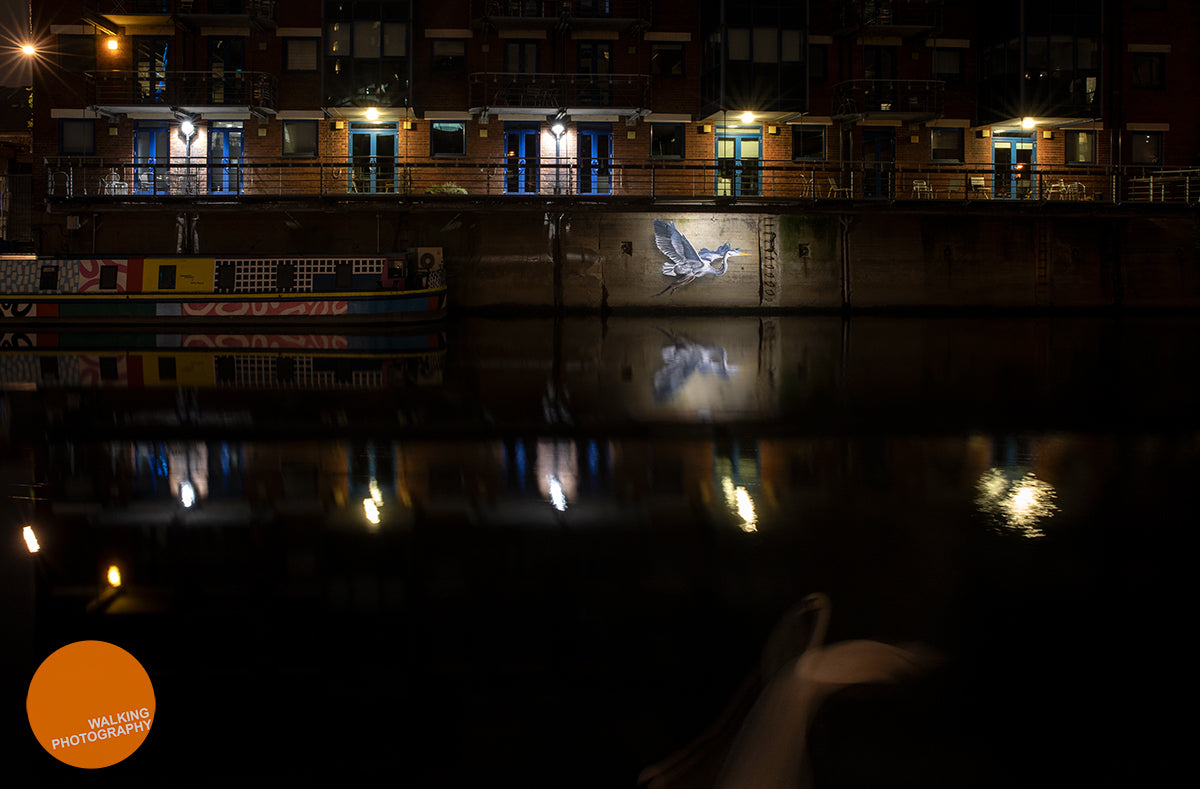 Night photography in Leeds
