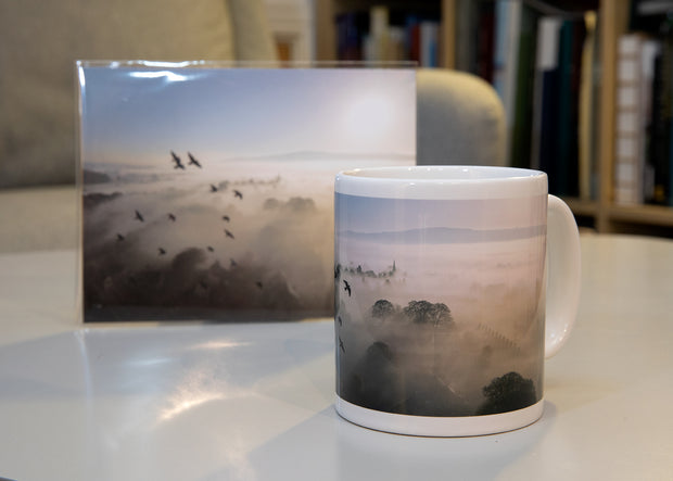 Brighter Skies Hand Printed Mug