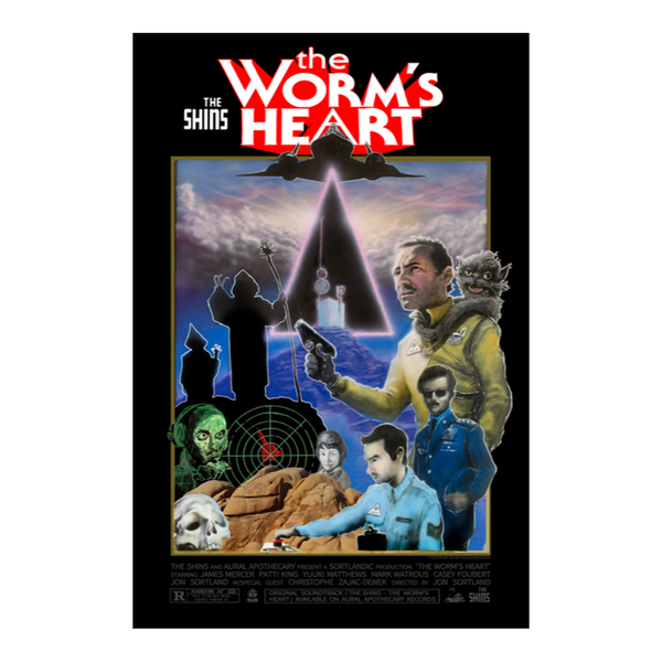 THE WORM'S HEART LIMITED EDITION SIGNED POSTER