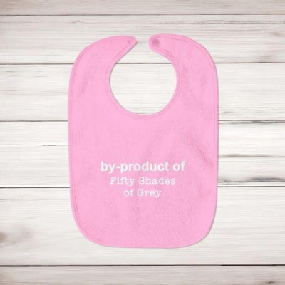 By-Product Of Fifty Shades Of Grey Baby Bib - Slightly Disturbed