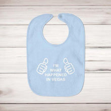 Load image into Gallery viewer, I'm What Happened In Vegas Baby Bib - Slightly Disturbed
