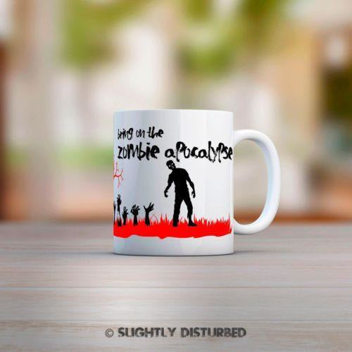 Bring On The Zombie Apocalypse Mug - Mugs - Slightly Disturbed