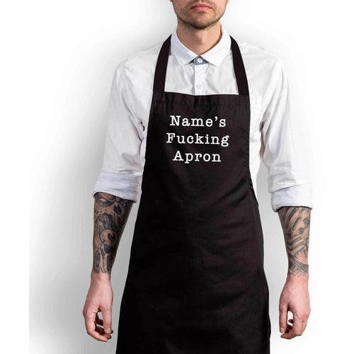 Personalised Swearing Apron - Offensive Aprons - Slightly Disturbed