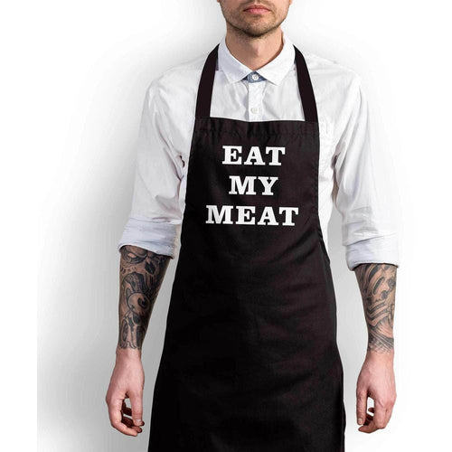 Eat My Meat Apron - Offensive Aprons - Slightly Disturbed