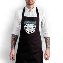 Load image into Gallery viewer, Coronavirus 2020 World Tour Apron - Black - Novelty Aprons - Slightly Disturbed