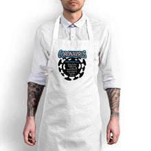 Load image into Gallery viewer, Coronavirus 2020 World Tour Apron - White - Novelty Aprons - Slightly Disturbed