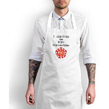 Load image into Gallery viewer, I Survived the 2020 Coronavirus Apron - Novelty Aprons - Slightly Disturbed