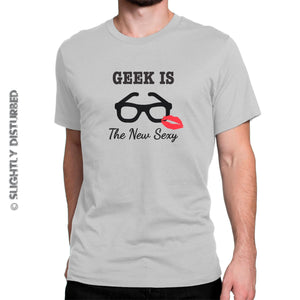 Geek Is The New Sexy Men's T-Shirt - Mens T-Shirts - Slightly Disturbed