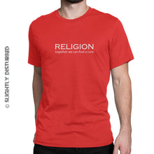 Load image into Gallery viewer, Religion - Together We Can Find A Cure Men's T-Shirt