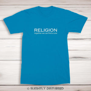 Religion - Together We Can Find A Cure Men's T-Shirt
