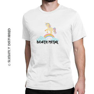 Death Metal Men's T-Shirt - Mens T-Shirts - Slightly Disturbed