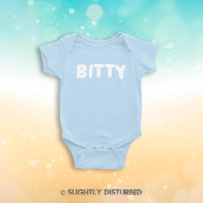 BITTY Babygrow - Rude Babygrows  -  Slightly Disturbed