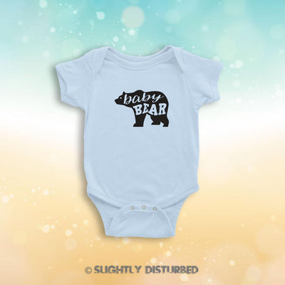 Baby Bear Babygrow - Slightly Disturbed