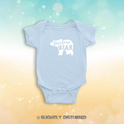 Baby Bear Babygrow - Babygrows & Sleepsuits - Slightly Disturbed