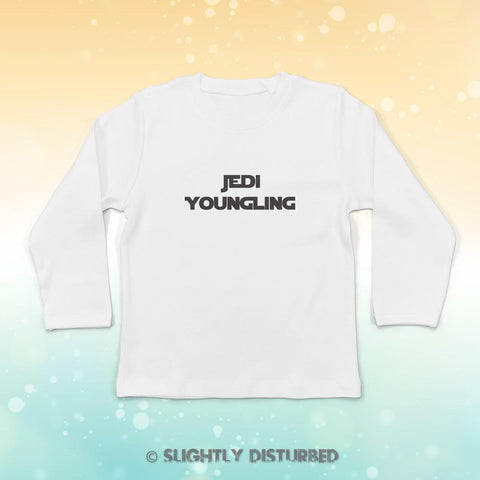 Jedi Youngling Baby Long Sleeve T-Shirt - Slightly Disturbed