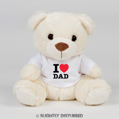 I Heart Dad Teddy Bear - Slightly Disturbed