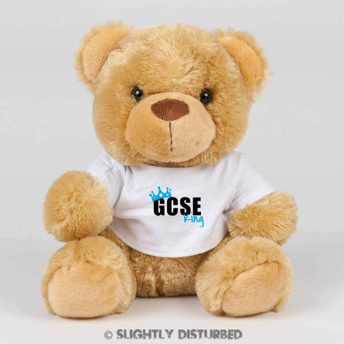 GCSE King or Queen Teddy Bear - Cuddly Toy - Slightly Disturbed