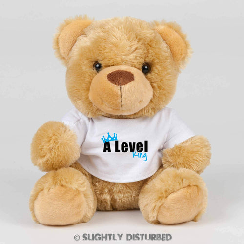 A Level King or Queen Teddy Bear - Cuddly Toy - Slightly Disturbed