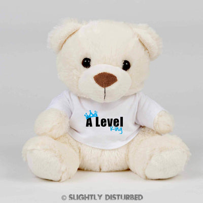 A Level King or Queen Teddy Bear - Slightly Disturbed