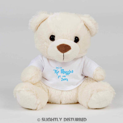 Don't Let The Muggles Get You Down Teddy Bear - Cuddly Toy - Slightly Disturbed
