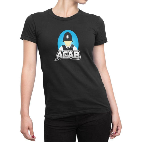 ACAB Ladies T-Shirt - Offensive T-shirts - Slightly Disturbed