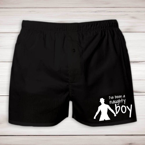 I've Been A Naughty Boy Mens Boxers - Novelty Underwear - Slightly Disturbed