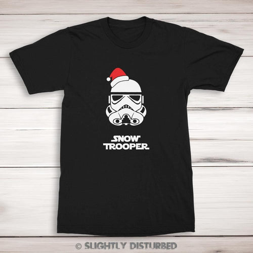 Snowtrooper Men's T-Shirt - Star Wars Rees - Slightly DisturbedSnowtrooper Men's T-Shirt - Star Wars Rees - Slightly Disturbed