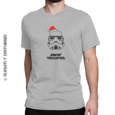 Snowtrooper Men's T-Shirt - Star Wars Rees - Slightly Disturbed