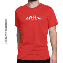 Load image into Gallery viewer, Evolution Of A Scuba Diver Men's T-Shirt - Mens T-Shirts - Slightly Disturbed