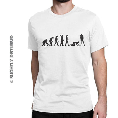 Evolution Of Man Men's T-Shirt - Slightly Disturbed