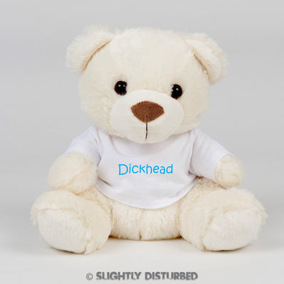 Dickhead Swear Bear - Slightly Disturbed