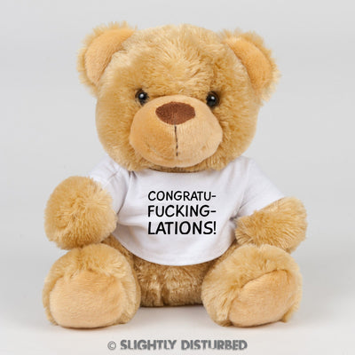 Congratu-fucking-lations Swear Bear - Swear Bear - Slightly Disturbed