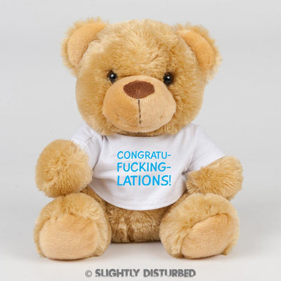 Congratu-fucking-lations Swear Bear - Slightly Disturbed
