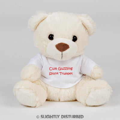 Cum Guzzling Spunk Trumpet Swear Bear - Swear Bear - Slightly Disturbed