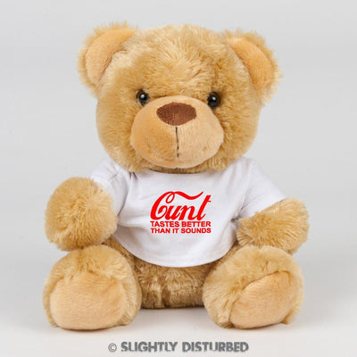 Cunt - Tastes Better than it Sounds Swear Bear - Swear Bear - Slightly Disturbed